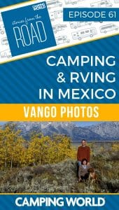 Camping and RVing in Mexico