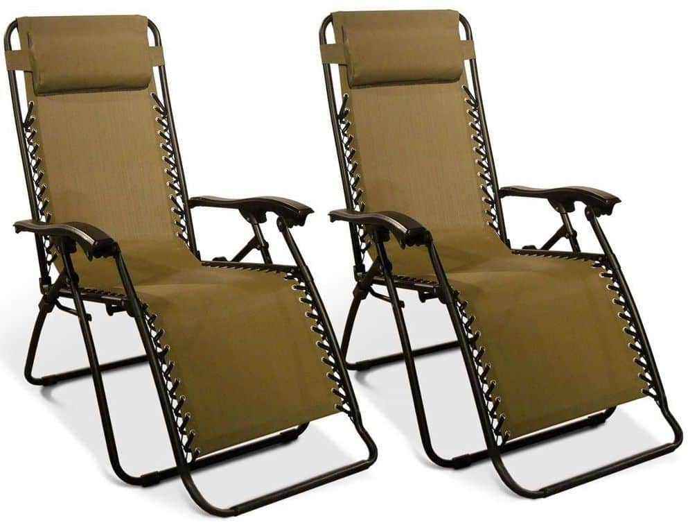 Zero Gravity Recliner, 2 Pack