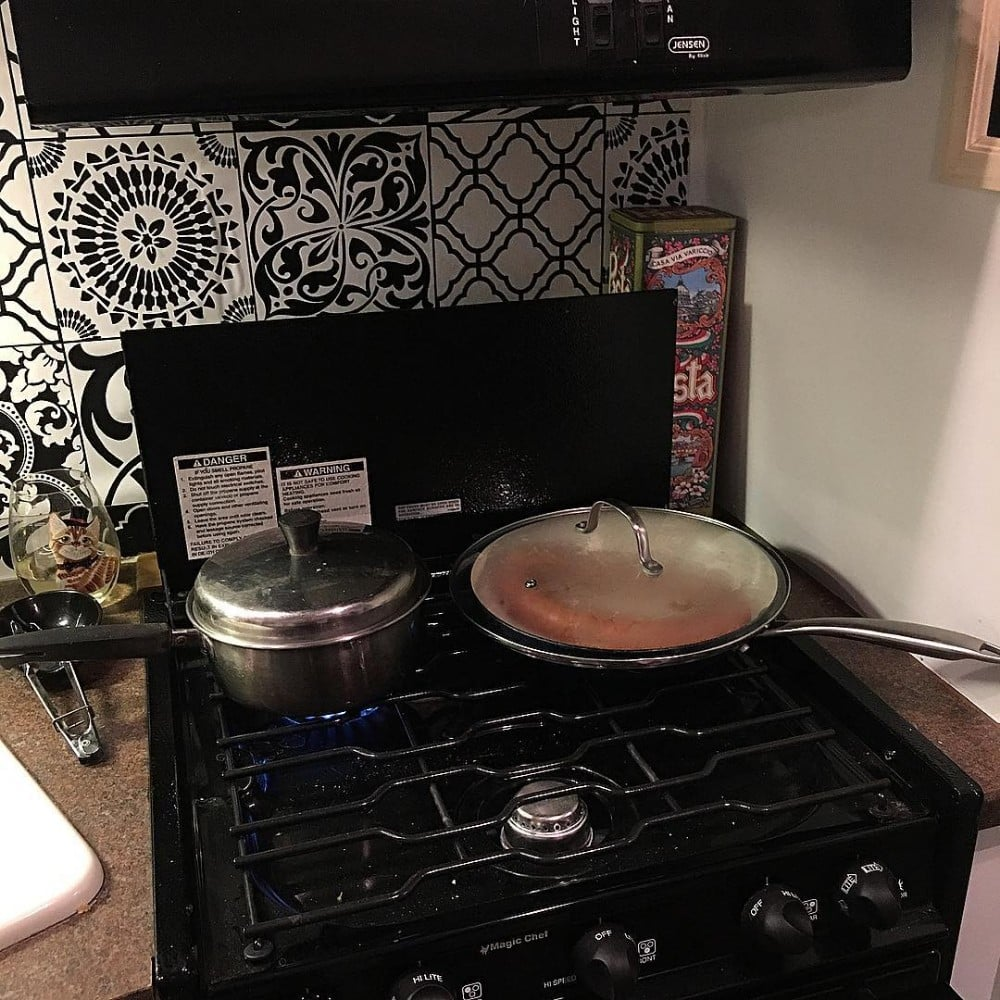 Rv Ranges Cooktops Camping World >> 3 Ways To Improve Rv Kitchen Storage Space Camping World