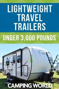 Great Lightweight Travel Trailers Under 3 000 Pounds