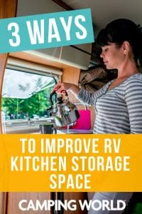 3 Ways to Improve RV Kitchen Storage Space