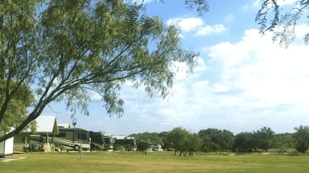 The perfect base to explore the Texas Hill Country is Buckhorn Lake RV Resort. It has every amenity you'd expect at a resort and then some including 2 pools, one of which is located in the adults-only section of the campground.