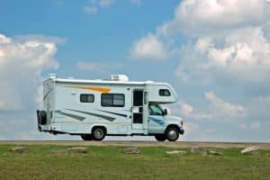 Motor home ready to hit the open road