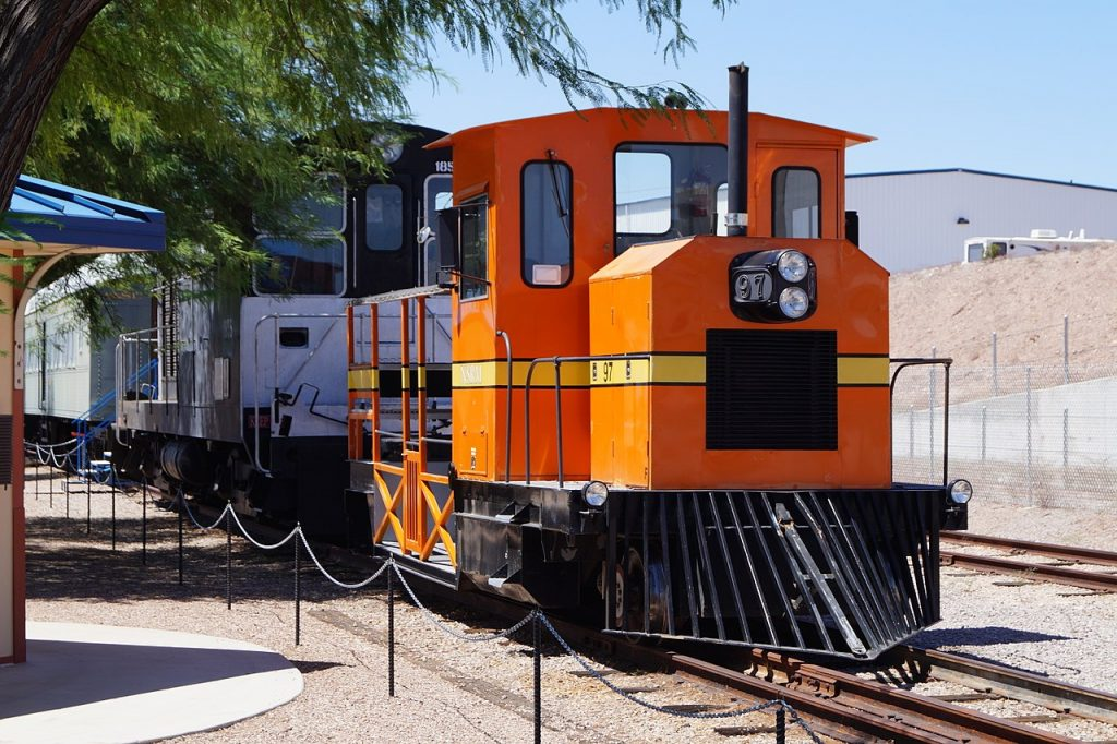 Nevada Southern Engine at Museum