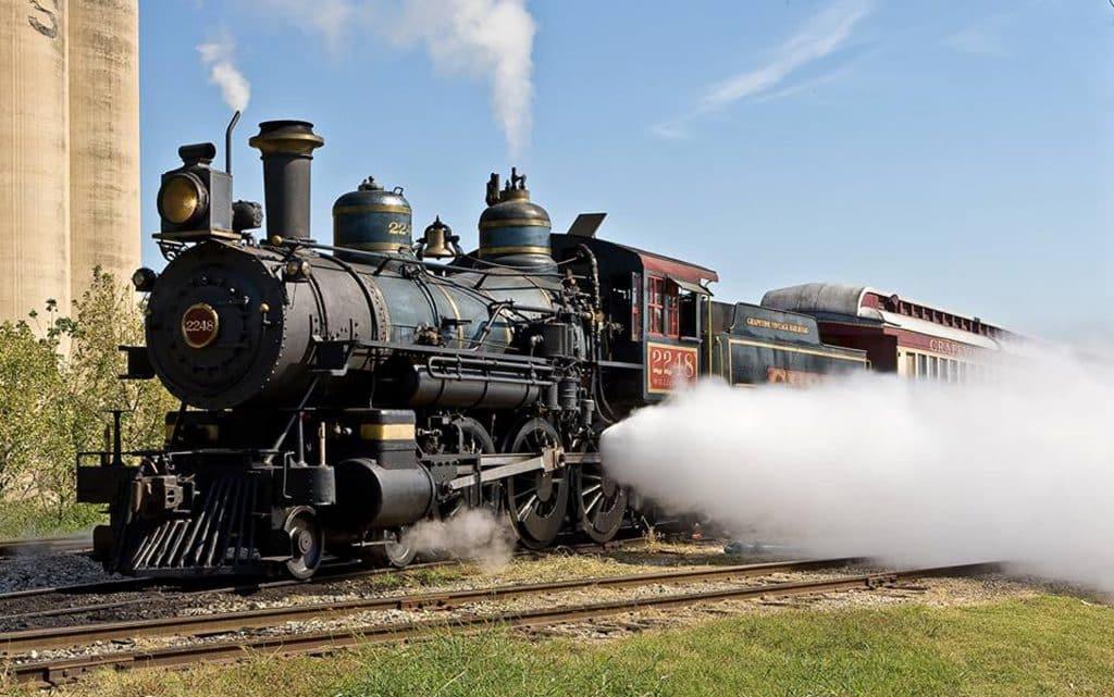 Grapevine Vintage Railroad Steam Engine