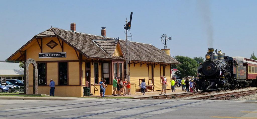 Grapevine Vintage Railway Depot