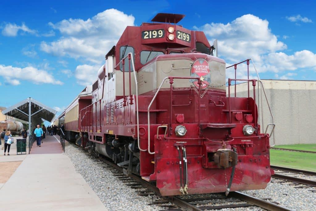Grapevine Vintage Railroad Diesel Engine