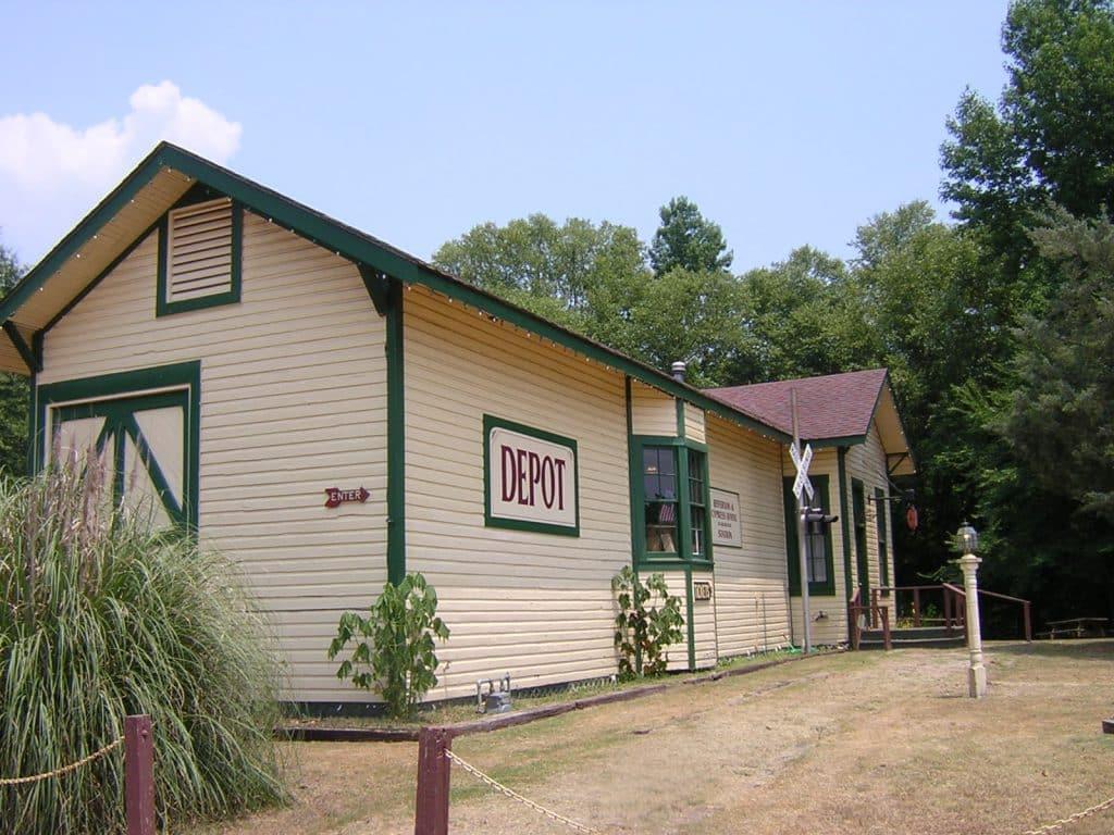 Jefferson Railway Depot