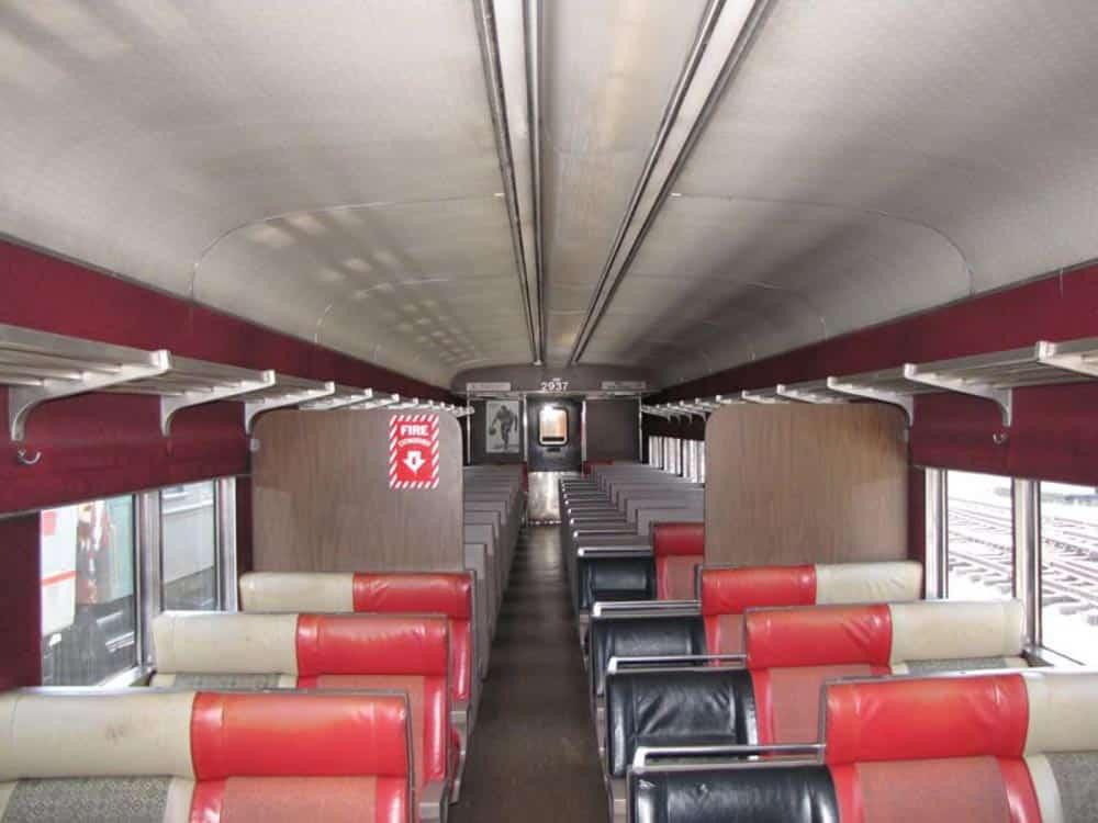 Passenger Car on Hoosier Valley Railroad