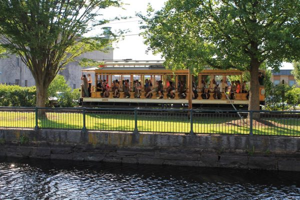 Trolley Car at Lowell National Historical Park