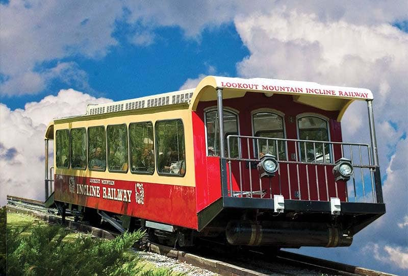 Lookout Mountain Incline Rail Car