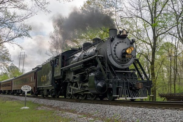 Tennessee Valley Railroad Steam Locomotive
