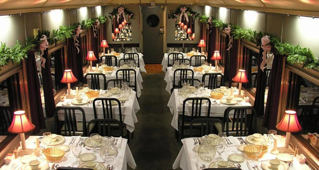 Dining Car on Tennessee Valley Railroad