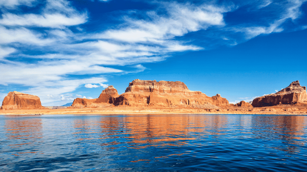 Wahweap Marina RV Park and Campground is located in the Glen Canyon National Recreation Area
