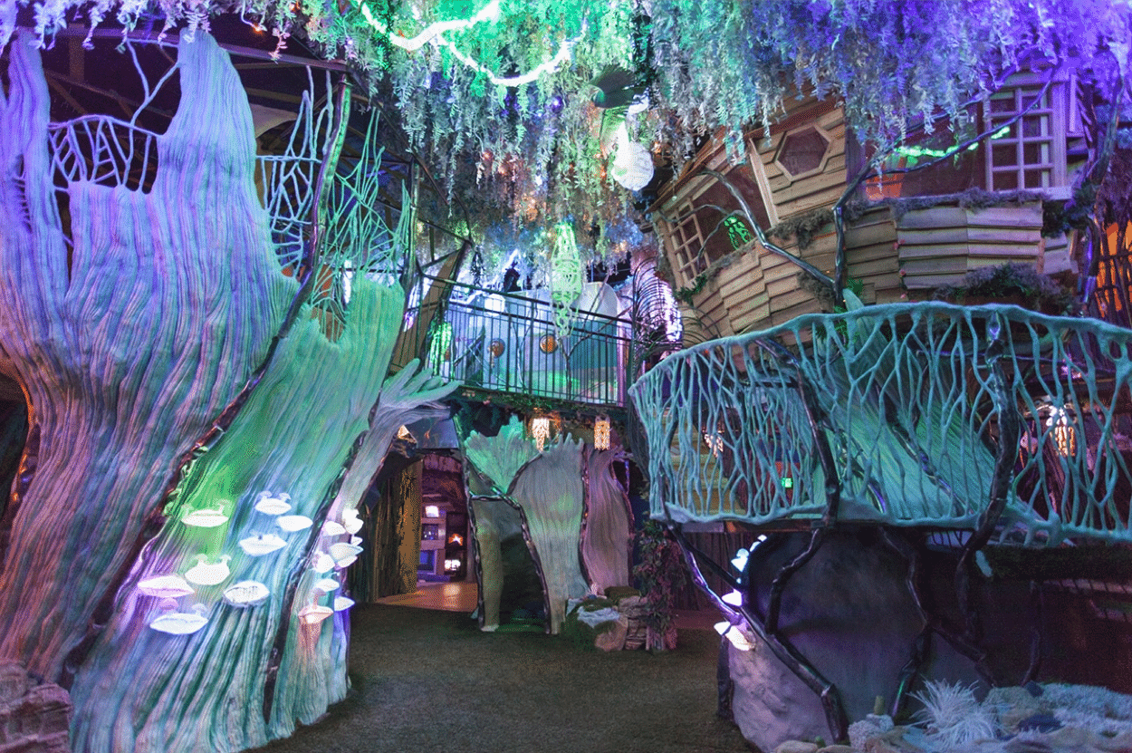 The House of Eternal Return at Santa Fe's Meow Wolf