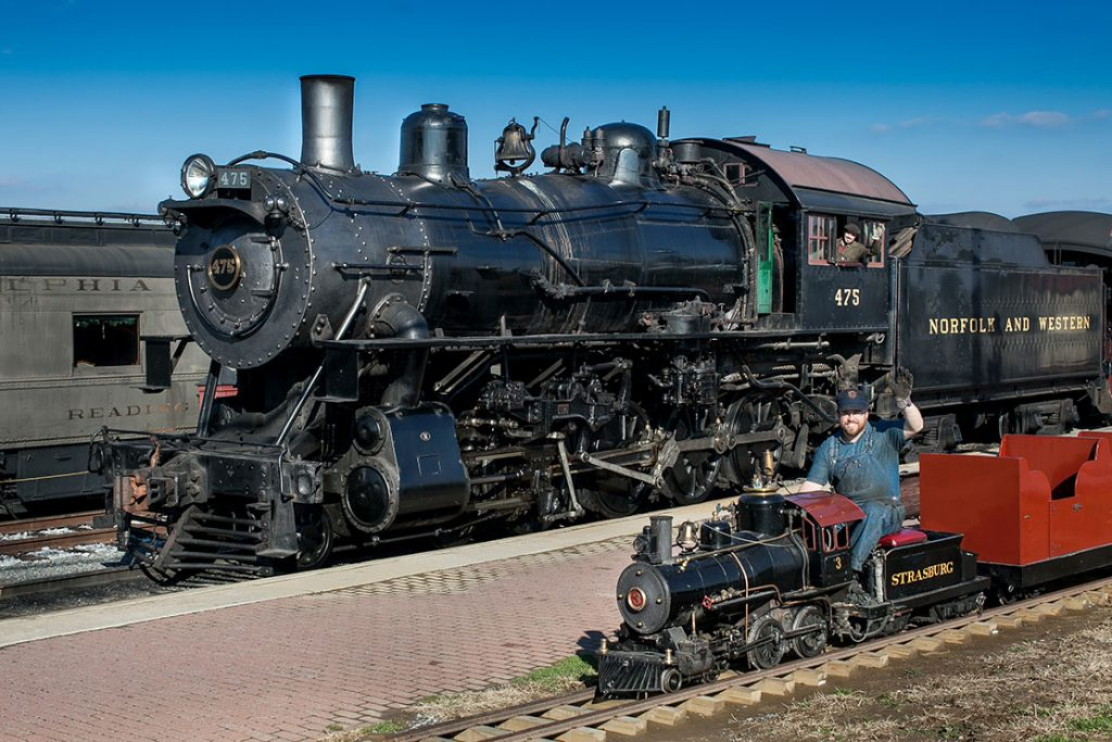 Strasburg Railroad Full and Pint Size
