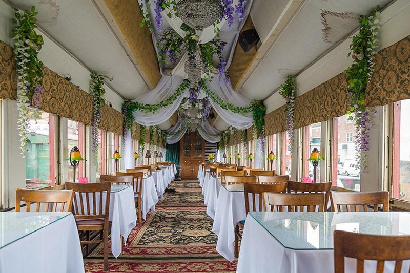 Colebrookdale Railroad Dining Car