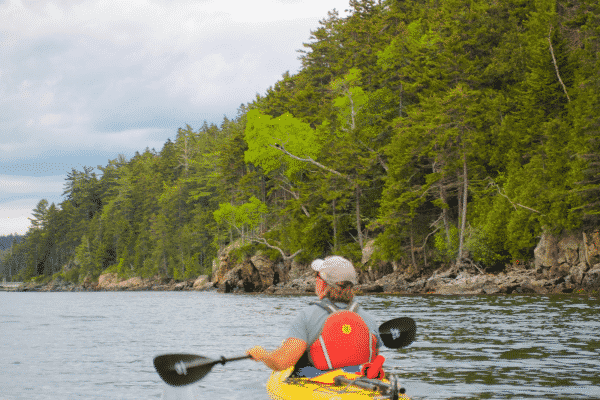 Kayaking in Acadia National Park