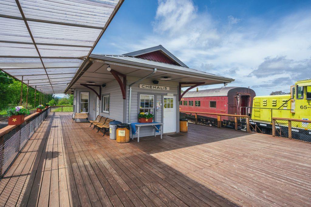 Chehalis Centralia Railroad Depot