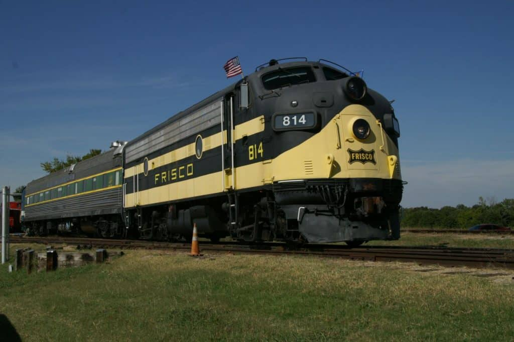 Oklahoma Railway Museum Train