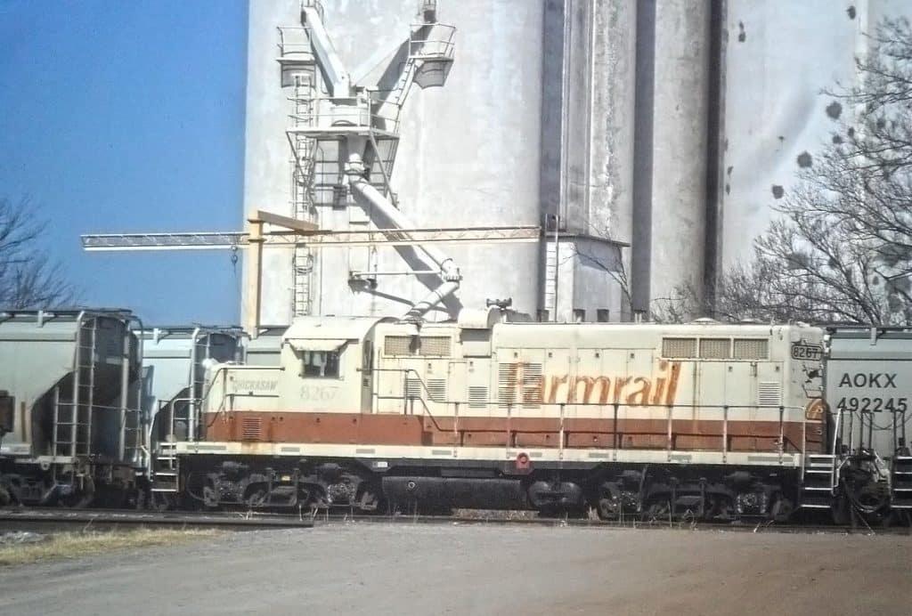 Farmrail at Grain Silos