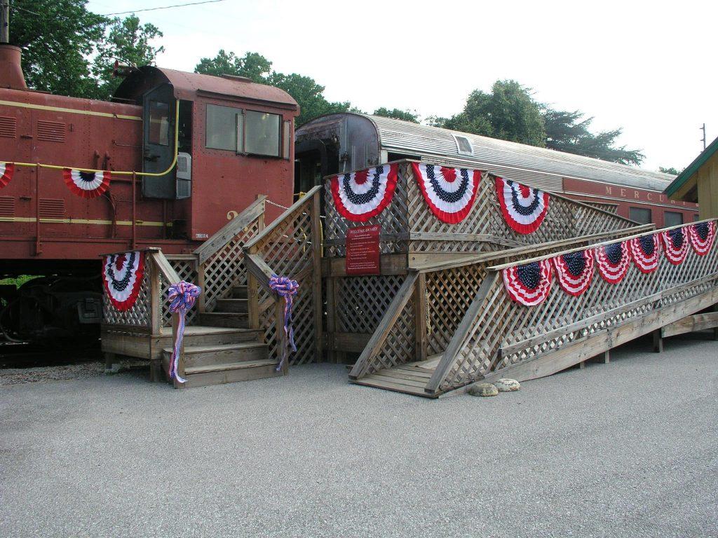 Excursion Trains in Alabama - North Alabama Railroad Entrance