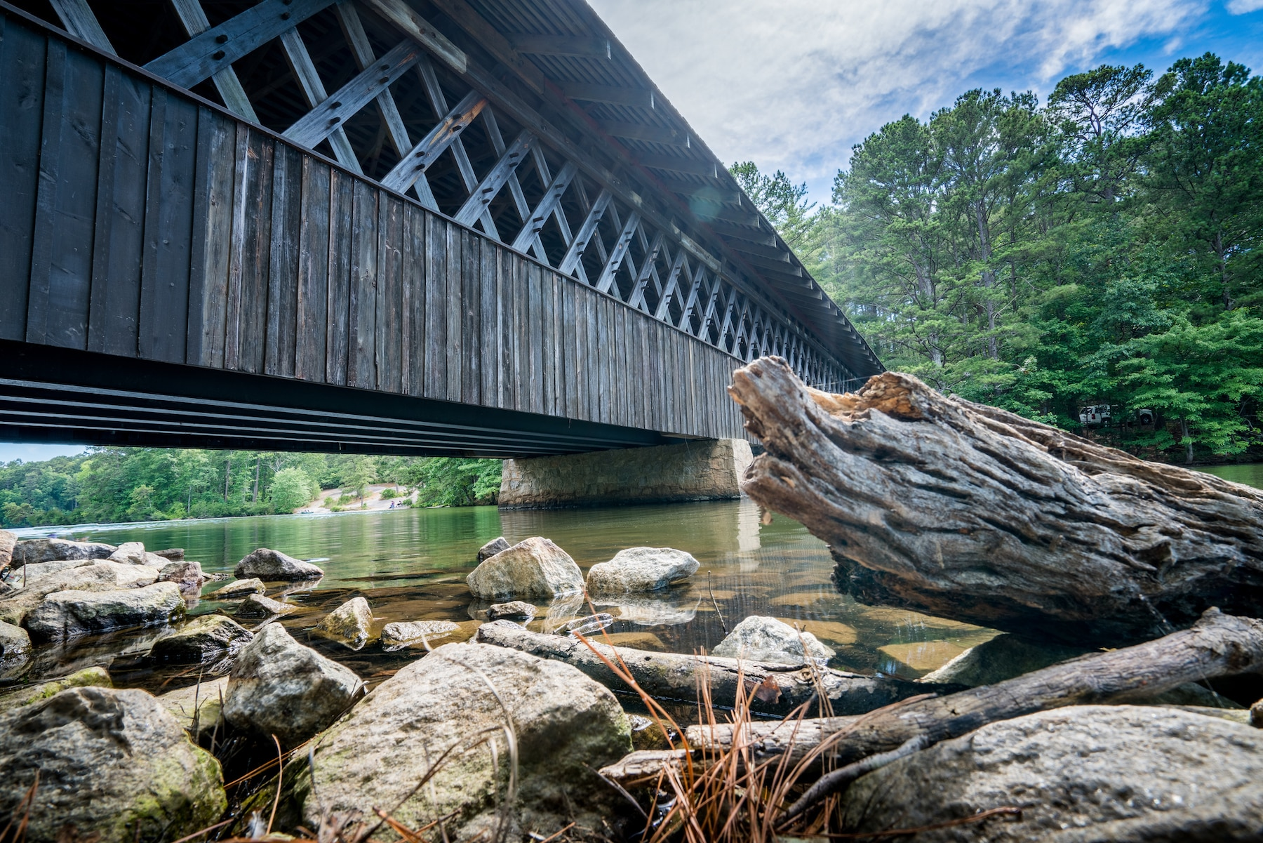 Covered bridge, Stone Mountain Georgia