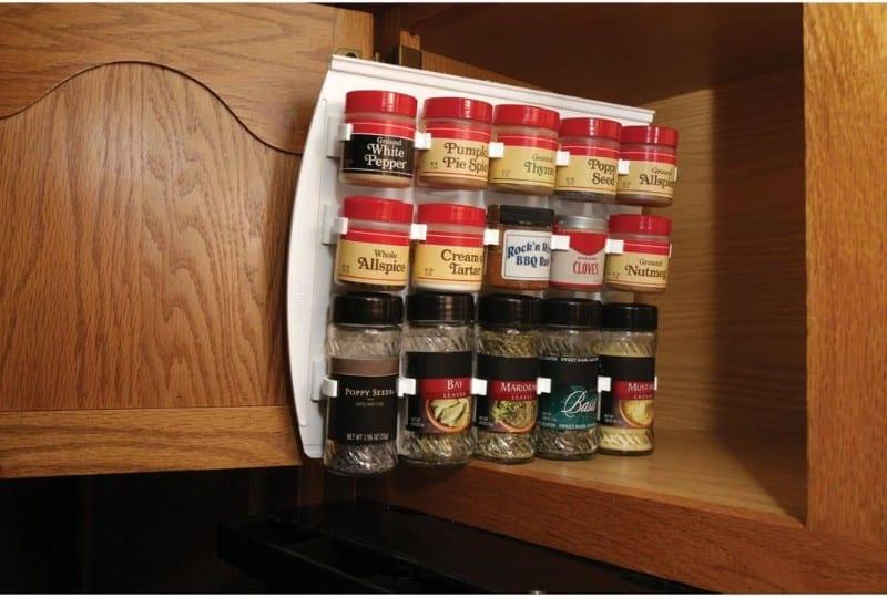 Spice Rack RV Kitchen