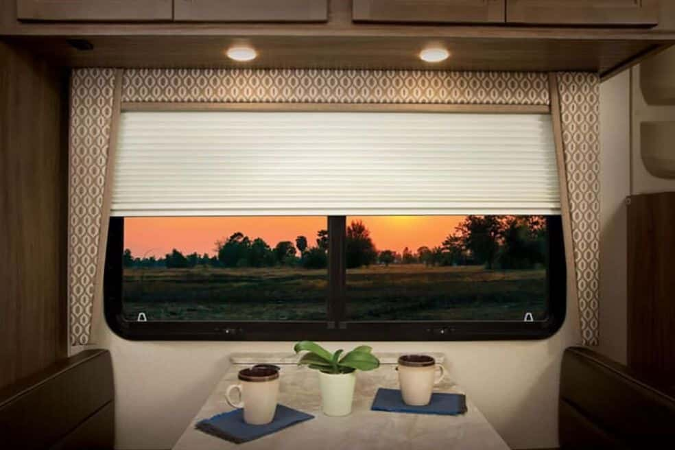 blinds in an RV