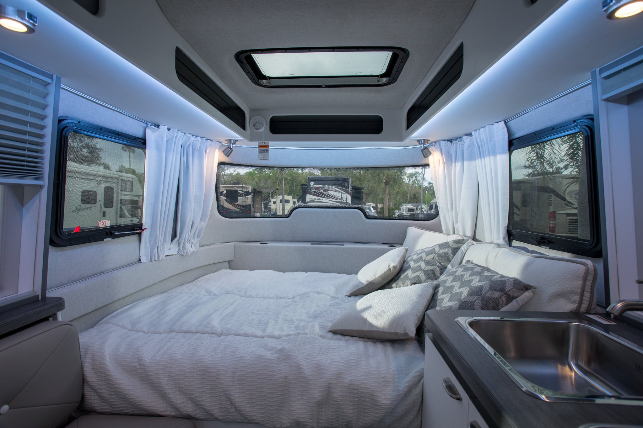 Interior of an RV