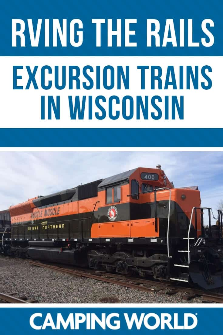 Excursion trains in Wisconsin
