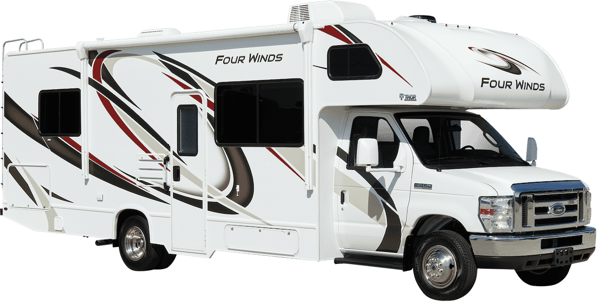 2020 thor motor coach four winds class c motorhome