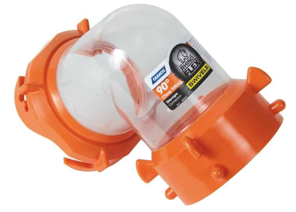 sewer hose 90-degree elbow