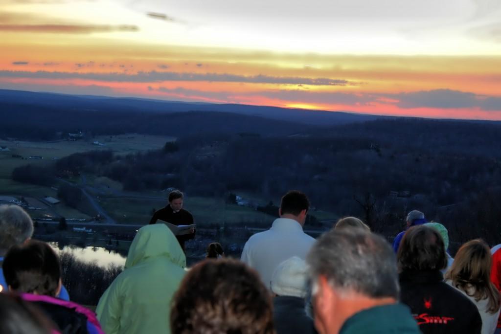 Easter Sunrise Service at Deep Creek Lake