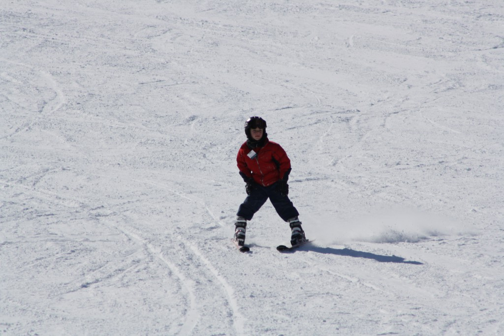 Skiing Wisp in March Deep Creek Lake