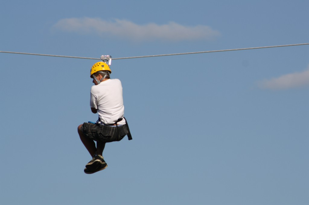 Wisp Resort's Flying Squirrel Canopy Tour-Deep Creek Lake