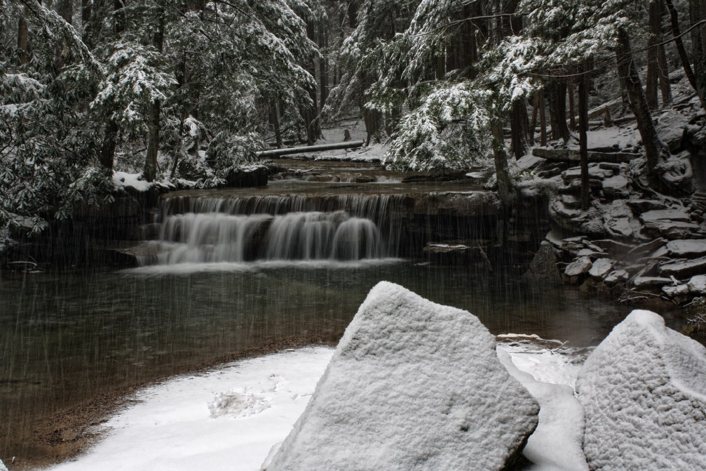 Snowy Tolliver Falls