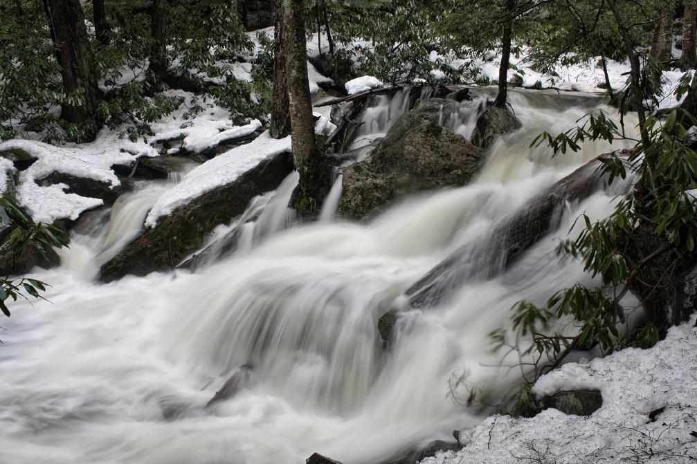 Below Tolliver Falls