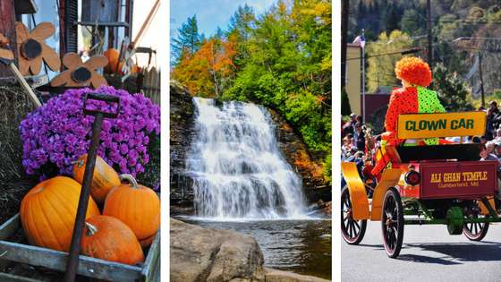 deep creek fall events