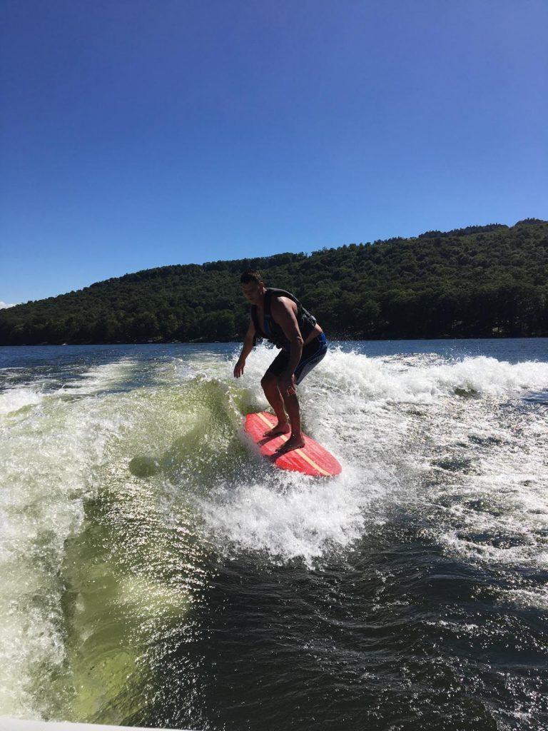 Wake Surfing-Deep Creek Lake