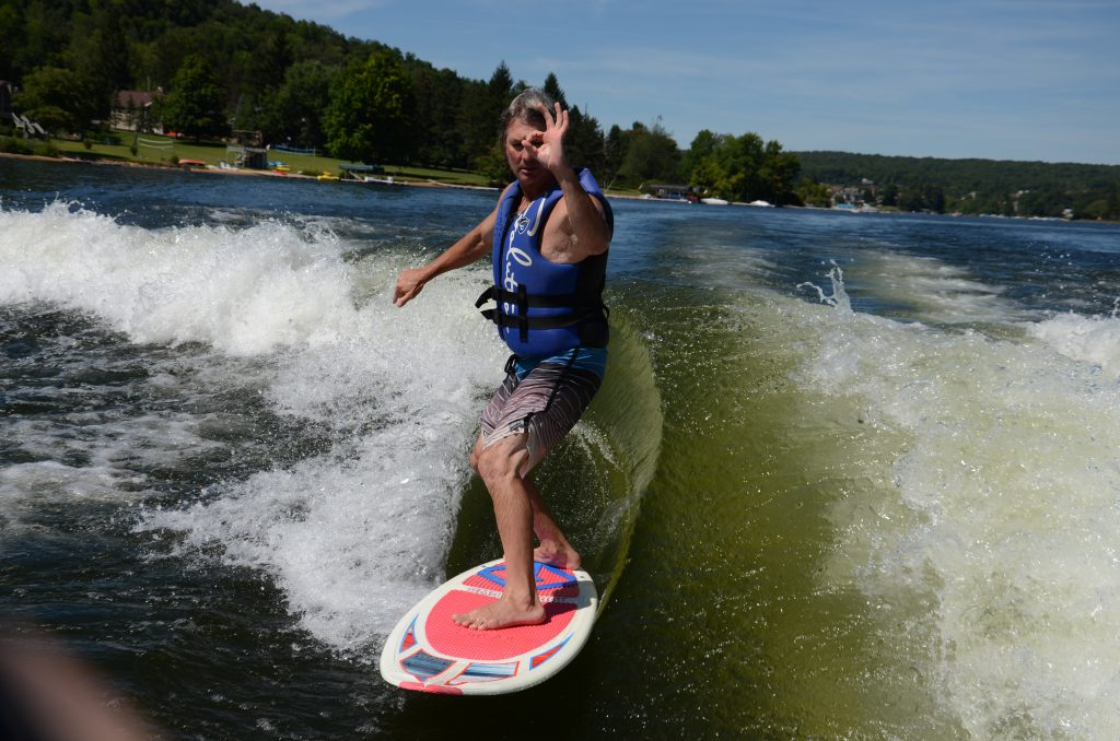 Wake Surfing-Deep Creek Lake