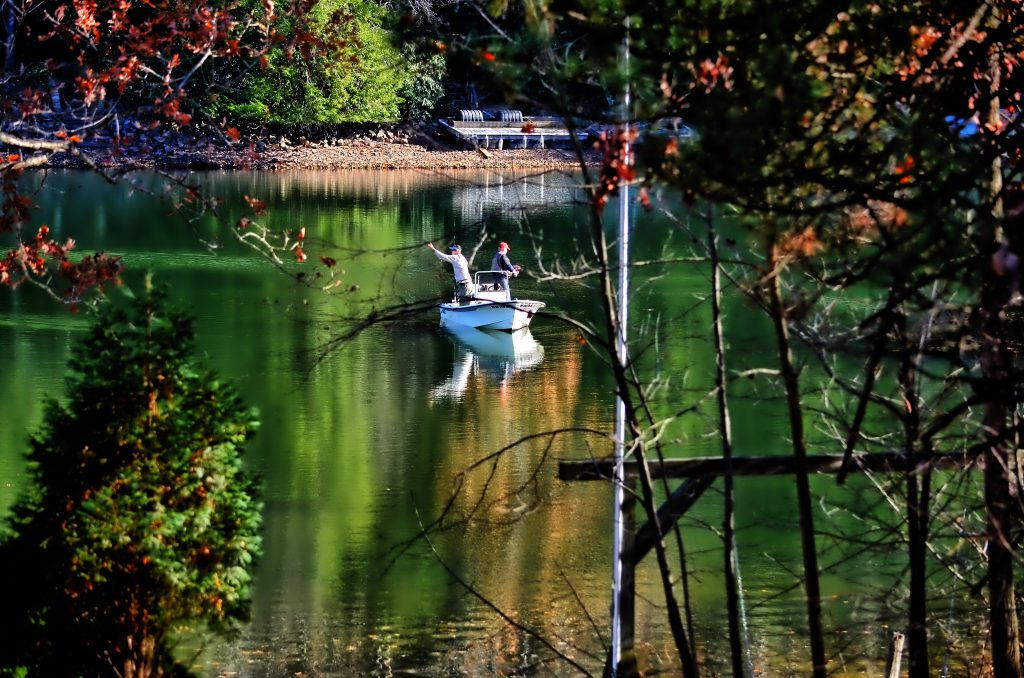 Fall Fishing Deep Creek Lake Maryland