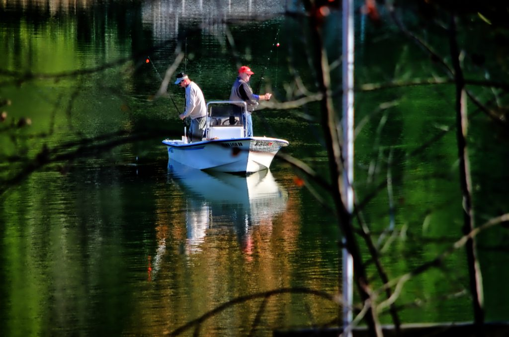 Fall Fishing Deep Creek Lake Maryland