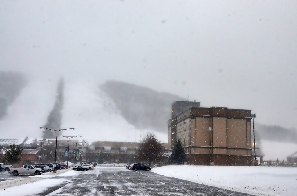 Snow Making Begins at Wisp Resort