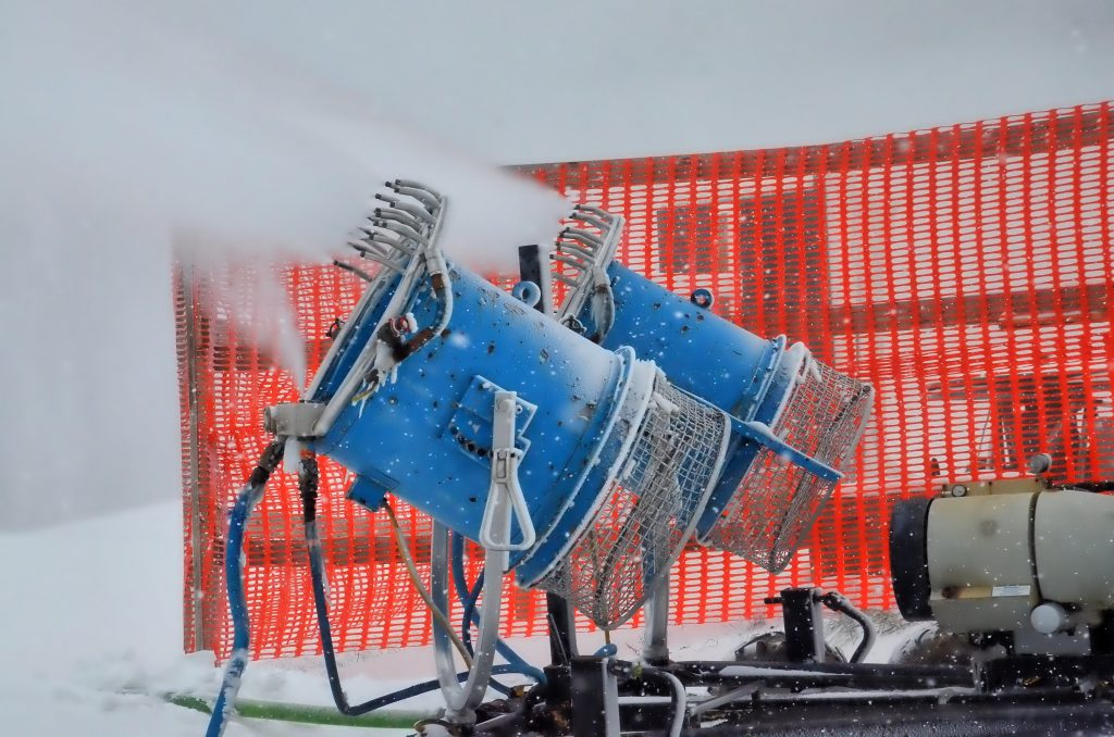 Snow Making Begins at Wisp Resort