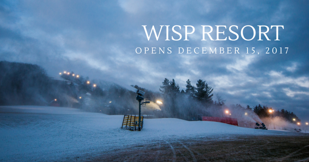 Wisp Resort Opening Day