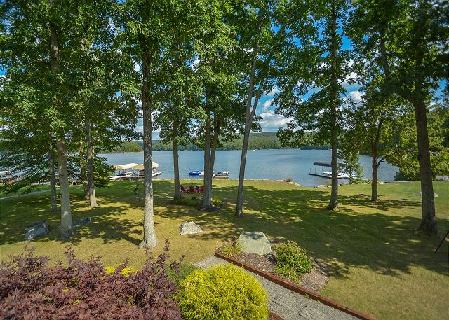 new lakefront home for sale at Deep Creek Lake