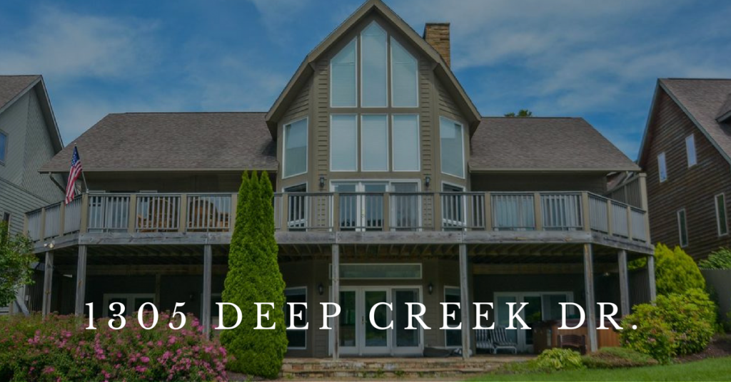 Lake Front Homes for Sale at Deep Creek Lake