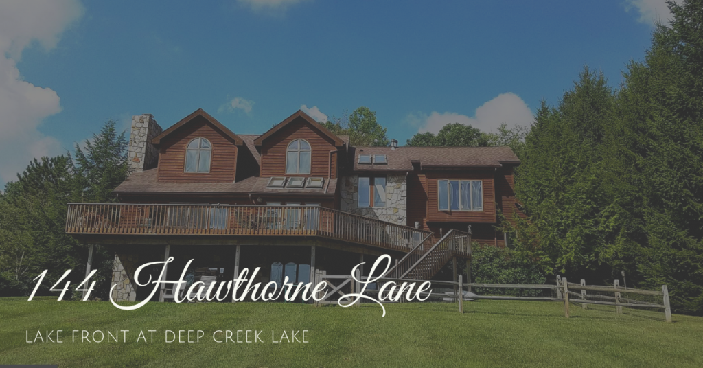 new lake front home for sale