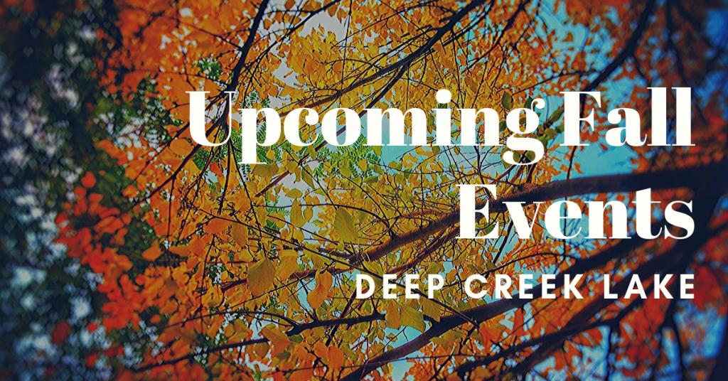 fall events deep creek lake